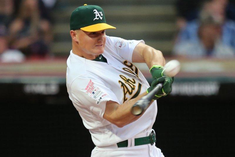 Athletics' Matt Chapman hits game-winning home run against Brewers
