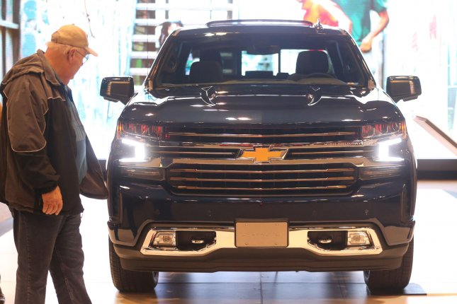 General Motors recalled 3.4 million full-size trucks and SUVs over problems with the brakes. Photo by BIll Greenblatt/UPI