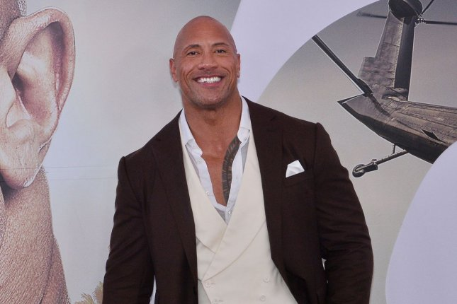 Dwayne Johnson has announced he is working on a reboot of The Scorpion King. File Photo by Jim Ruymen/UPI