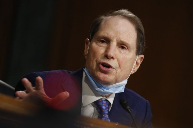 Sen. Ron Wyden, D-Ore., said Monday that the extent of the recent cyberattack against the Treasury was unknown. Pool Photo by Andrew Harnik/UPI