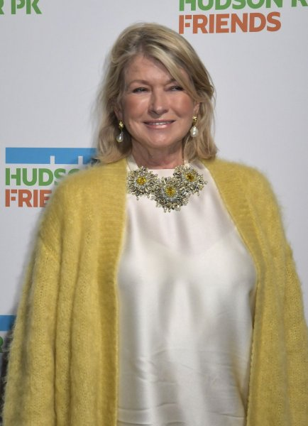 Martha Stewart arrives on the red carpet Hudson River Park Annual Gala to honor Michael R. Bloomberg, David Chang and Lucy Liu at Cipriani South Street in New York City on October 17, 2019. She turns 80 on August 3. File Photo by Louis Lanzano/UPI