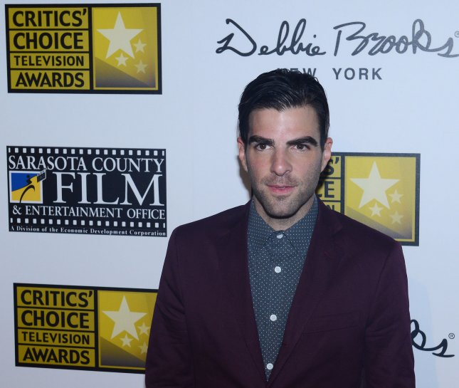 Actor Zachary Quinto arrives at the Broadcast Television Journalists Association's 3rd annual Critics' Choice Television Awards at the Beverly Hilton Hotel in Beverly Hills, California on June 10, 2013. UPI/Jim Ruymen