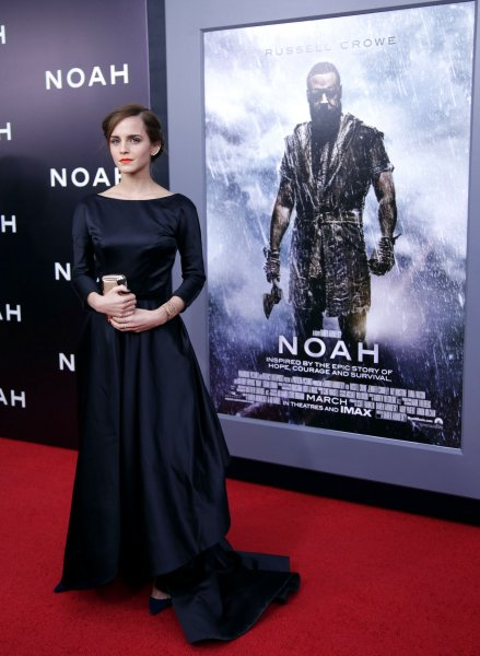 Emma Watson arrives on the red carpet at the New York Premiere of Noah at the Ziegfeld Theatre in New York City on March 26, 2014. UPI/John Angelillo