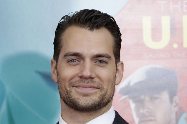 Henry Cavill arrives on the red carpet at the New York premiere of The Man From U.N.C.L.E. on August 10, 2015. Photo by John Angelillo/UPI