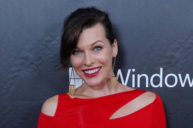 Milla Jovovich at the amfAR Inspiration Gala in 2014. The actress will star in Future World. File Photo by Jim Ruymen/UPI