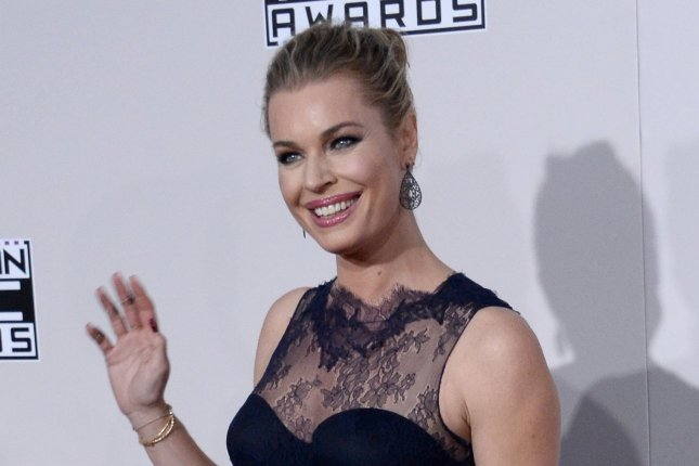 The Librarians actress Rebecca Romijn arrives for the 2016 American Music Awards in Los Angeles on November 20, 2016. File Photo by Jim Ruymen/UPI