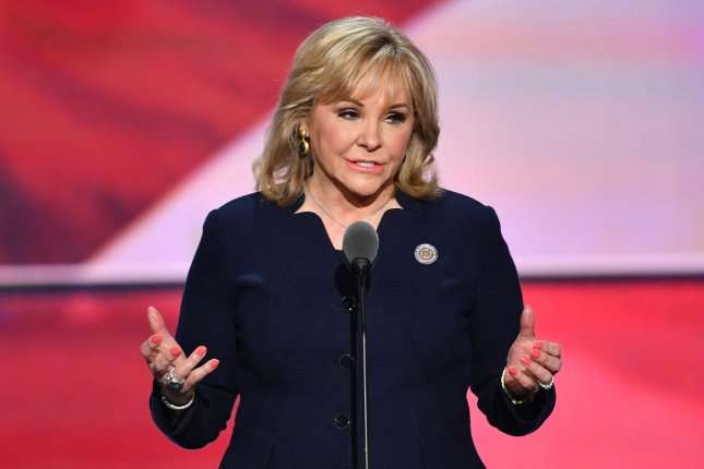 Governor Mary Fallin of Oklahoma says she's deeply frustrated that House leaders failed to send a much-needed budget plan to the Senate. File photo by Kevin Dietsch/UPI