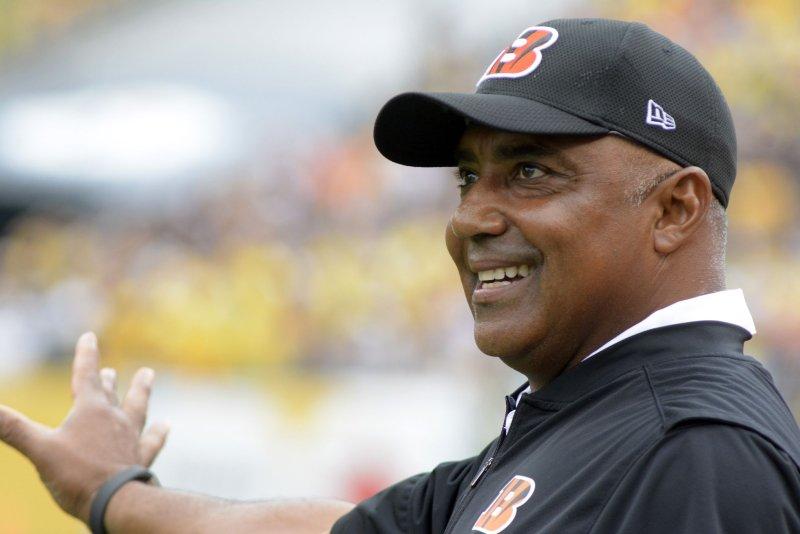 Cincinnati Bengals head coach Marvin Lewis. Photo by Archie Carpenter/UPI