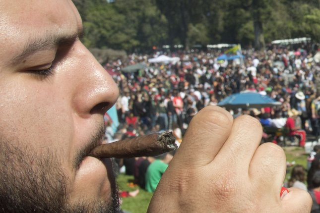 New Jersey Gov. Phil Murphy signed several laws Monday legalizing the use of recreational marijuana for people older than 21, regulating its sale and reforming penalties for low-level marijuana offenses. File Photo by Terry Schmitt/UPI