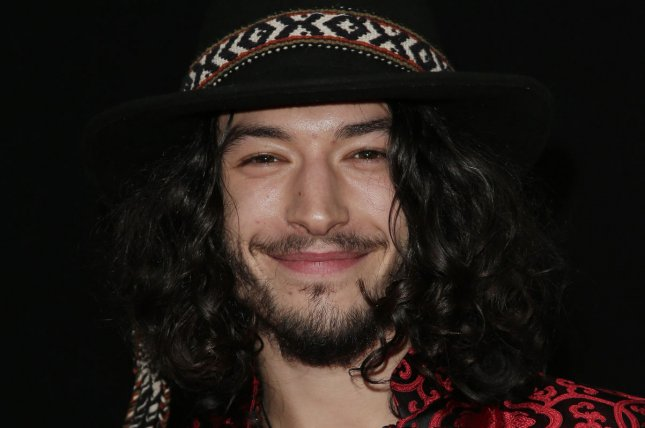 Fantastic Beasts and Where to Find Them and The Flash star Ezra Miller arrives on the red carpet at the New York premiere of 'Trainwreck' on July 14, 2015. File Photo by John Angelillo/UPI