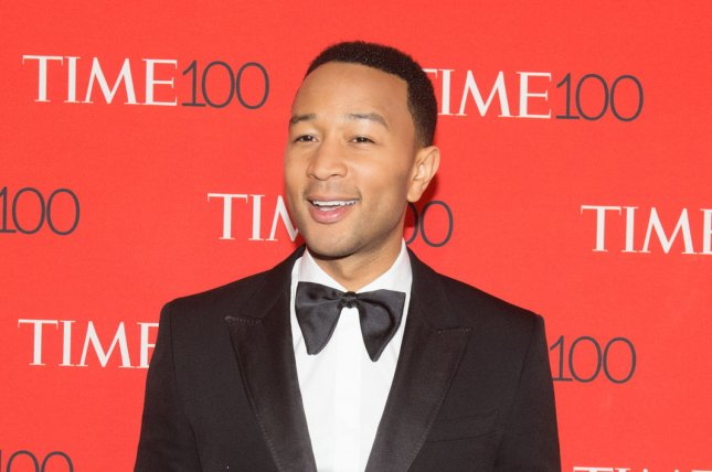 John Legend attends the TIME 100 gala on Tuesday. Photo by Bryan R. Smith/UPI