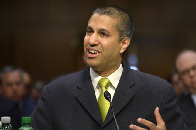 Federal Communications Commission Chairman Ajit Pai said Tuesday a new rule allowing law enforcement access to blocked caller IDs in anonymous phone threats could save lives and help apprehend those making such calls. FIle photo by Mike Theiler/UPI