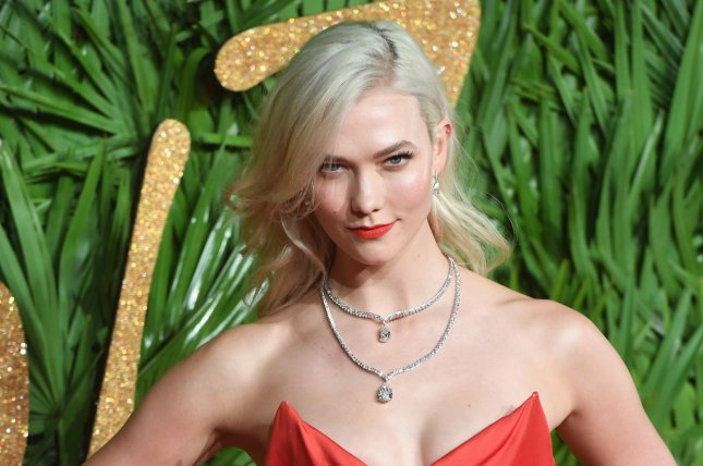 Karlie Kloss showed off her engagement ring Tuesday on Instagram Stories. File Photo by Rune Hellestad/UPI