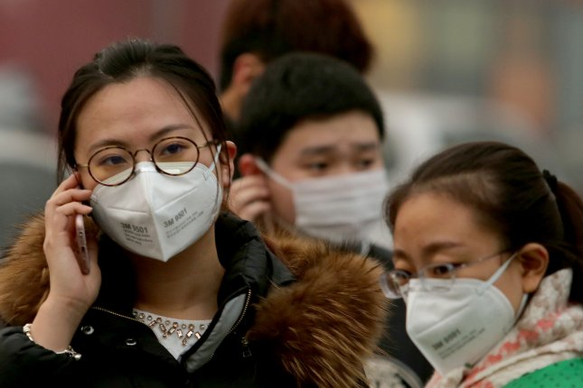 China's northeast regions are being affected by heavy pollution this week. File Photo by Stephen Shaver/UPI