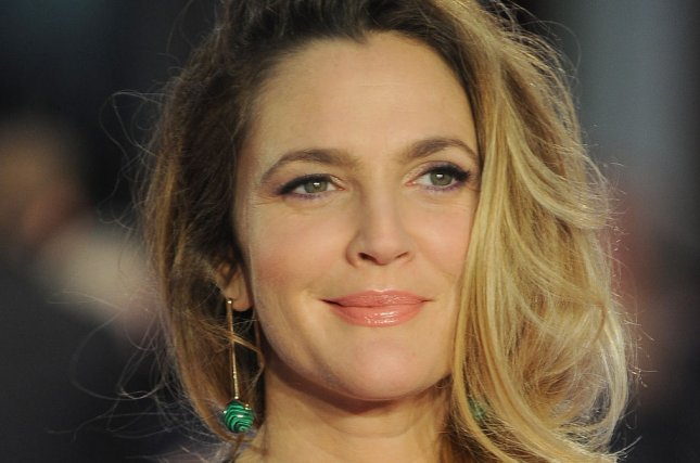 American actress Drew Barrymore attends the European premiere of Missing You Already in London on September 17, 2015. Photo by Paul Treadway/UPI