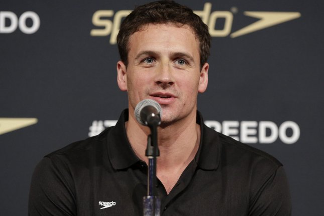 Ryan Lochte at the Teem Speedo launch on December 15, 2015. File Photo by John Angelillo/UPI