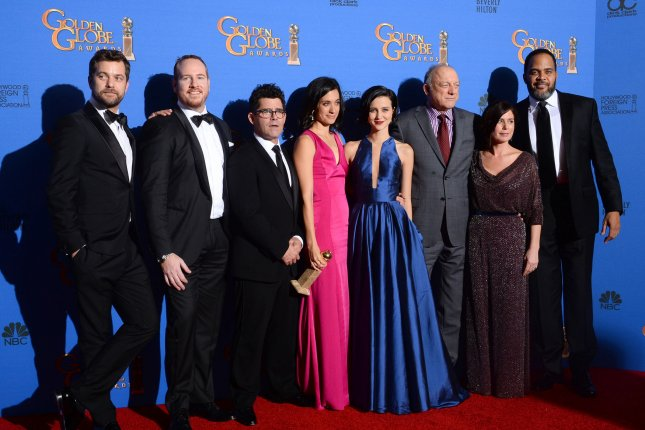 Season 4 of The Affair is to debut June 17. The cast and creative team are pictured here at the 72nd annual Golden Globe Awards in Beverly Hills on January 11, 2015. File Photo by Jim Ruymen/UPI