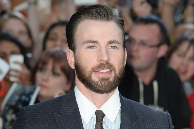 Chris Evans and Jeremy Renner apologized for their disparaging remarks about Marvel character Black Widow. File photo by Rune Hellestad/UPI
