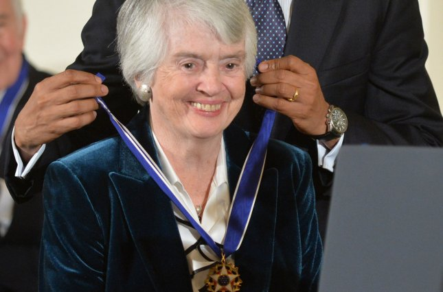 President Barack Obama awards the Presidential Medal of Freedom to retired judge Patricia Wald at the White House on November 20, 2013. Wald died Saturday at her home in Washngton. UPI/Kevin Dietsch