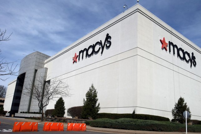 The department store chain said it will return workers on a staggered basis once business resumes.Photo by Bill Greenblatt/UPI