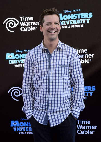 Actor Sean Hayes, the voice of Terri in the animated motion picture comedy Monsters University, attends the premiere of the film at the El Capitan Theatre in the Hollywood section of Los Angeles on June 17, 2013. UPI/Jim Ruymen