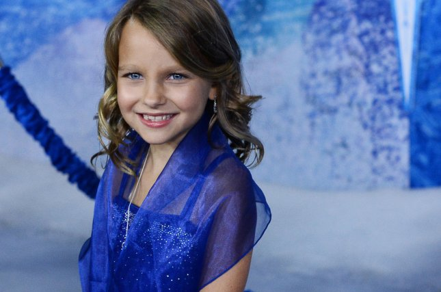 Actress Livvy Stubenrauch, the voice of young Anna in the animated motion picture musical comedy Frozen attends the premiere of the film at the El Capitan Theatre in the Hollywood section of Los Angeles. UPI/Jim Ruymen