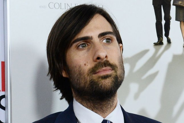 Cast member Jason Schwartzman attends the premiere of the biographical motion picture drama Saving Mr. Banks at TCL Chinese Theatre in the Hollywood section of Los Angeles on November 7, 2013. Storyline: When Walt Disney's daughters begged him to make a movie of their favorite book, P.L. Travers' Mary Poppins, he made them a promise - one that he didn't realize would take 20 years to keep. In his quest to obtain the rights, Walt comes up against a curmudgeonly, uncompromising writer who has absolutely no intention of letting her beloved magical nanny get mauled by the Hollywood machine. But, as the books stop selling and money grows short, Travers reluctantly agrees to go to Los Angeles to hear Disney's plans for the adaptation. UPI/Jim Ruymen