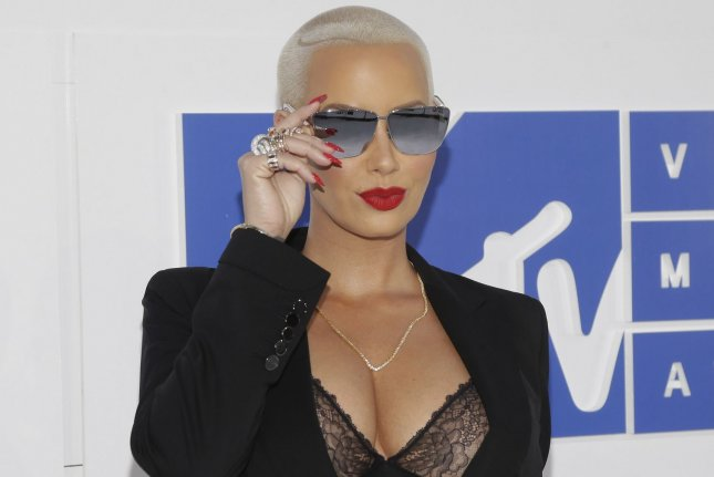 Amber Rose at the MTV Video Music Awards on August 28, 2016. File Photo by John Angelillo/UPI