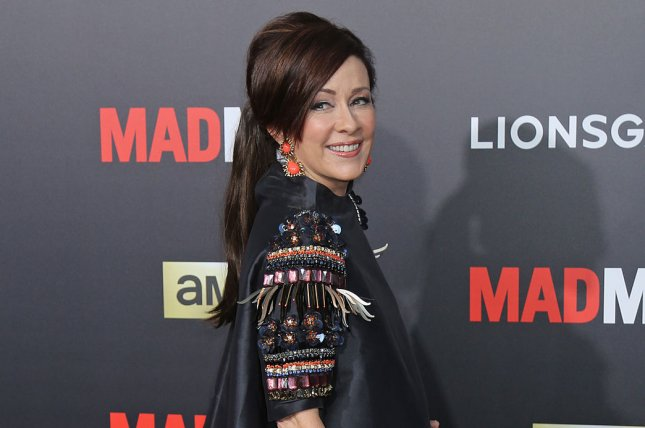 Patricia Heaton attends the Mad Men Black & Red Ball on March 25, 2015. The actress plays Frankie Heck on The Middle. File Photo by David Silpa/UPI
