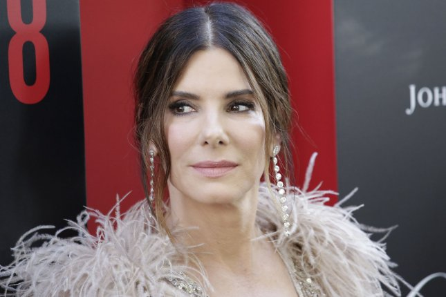Sandra Bullock plays a mom of two in the new post-apocalyptic horror movie Bird Box. File Photo by John Angelillo/UPI