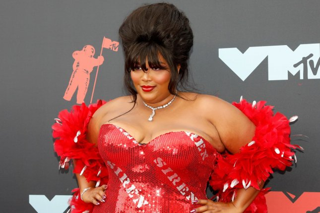Lizzo will be appearing on a radio program about mental health awareness along with other music stars such as Shawn Mendes. File Photo by John Angelillo/UPI