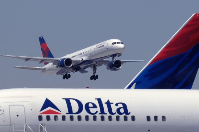 Delta reported record revenues of $12.6 billion between July and October. File Photo by John Dickerson/UPI