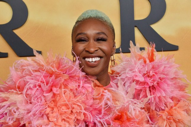 Cast member Cynthia Erivo attends the premiere of Harriet in Los Angeles on October 29. The actress and the movie were honored Monday with awards from the Women Film Critics Circle. File Photo by Jim Ruymen/UPI
