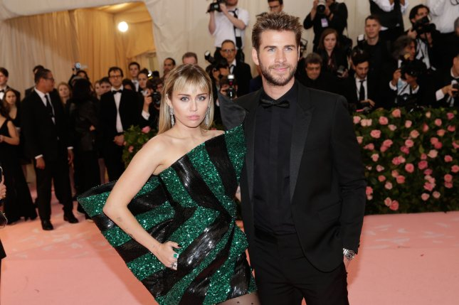 Miley Cyrus (L) discussed the villainizing she experienced following her split from Liam Hemsworth. File Photo by John Angelillo/UPI