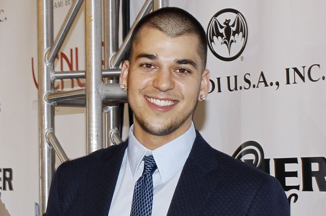 Rob Kardashian at the Leather and Laces party on February 5, 2010. The reality star is reportedly staying with rumored girlfriend Blac Chyna. File Photo by John Angelillo/UPI