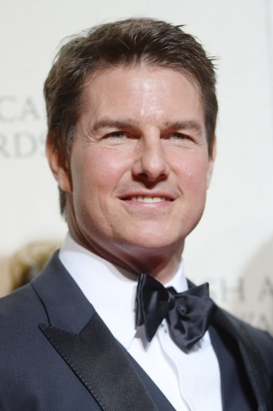 Tom Cruise at the EE British Academy Film Awards on February 14. The actor played Maverick in Top Gun. File Photo by Rune Hellestad/UPI
