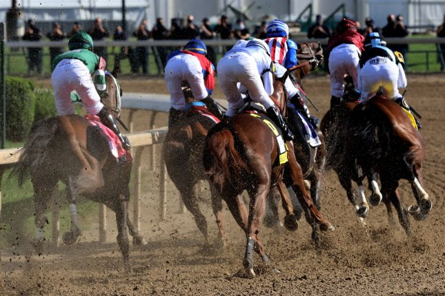 The Melbourne Cup is known as the race that stops the nation, much like the Kentucky Derby in the United States (shown). File Photo by John Sommers II/UPI