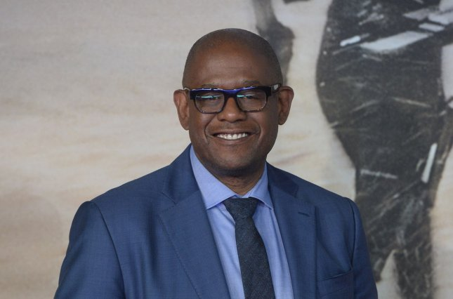 American actor Forest Whitaker attends the premiere of Rogue One: A Star Wars Story at the Tate Modern in London on December 13. He turns 56 on July 15. File Photo by Rune Hellestad/UPI