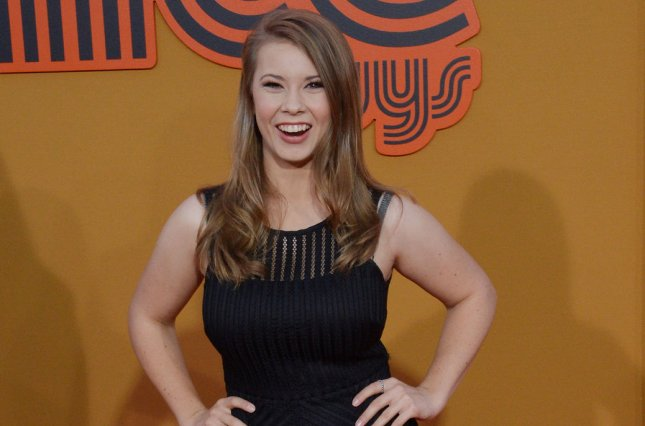 Actress/conservationist Bindi Irwin attends the premiere of The Nice Guys in Los Angeles on May 10, 2016. File Photo by Jim Ruymen/UPI