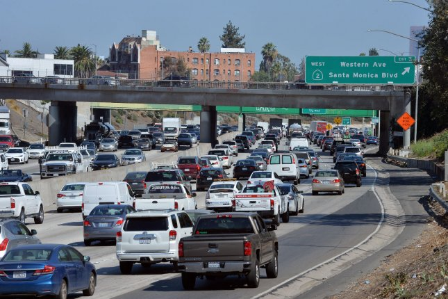 A National Highway Traffic Safety Administration report said rolling back emissions standards will cause an increase in premature deaths. File Photo by Jim Ruymen/UPI