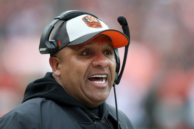 Hue Jackson posted a 3-36-1 record during his tenure with the Cleveland Browns, before being fired in 2018. File Photo by Aaron Josefczyk/UPI