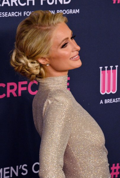 Paris Hilton attends a benefit for the Women's Cancer Research Fund in Beverly Hills, Calif., in February 2020. The heiress turns 40 on February 17. File Photo by Jim Ruymen/UPI