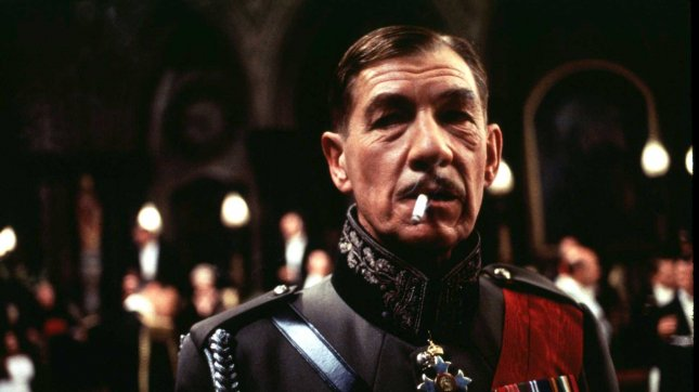 LAP96021355-13FEBRUARY1996-BEVERLY HILLS,CALIFORNIA,USA: Ian McKellen stars as Richard, a charismatic malcontent and England's most ruthless monarch in United Artists' unique version of Shakespeare's compellig tale of power and political intrigue Richard III. (File/UPI)