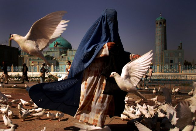 Chad has banned wearing and selling head-to-toe, full-face veils, such as burqas, a traditional Muslim attire, after Boko Haram suicide attacks were carried out earlier this week. File Photo by Mohammad Kheirkhah/UPI