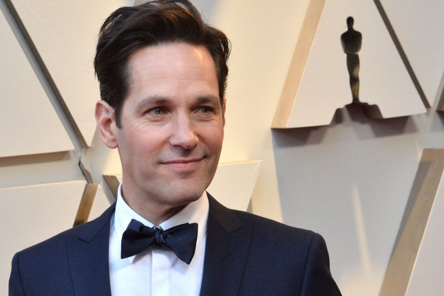 Paul Rudd is to voice a character in the new Audible Originals comedy series Escape From Virtual Island. File Photo by Jim Ruymen/UPI