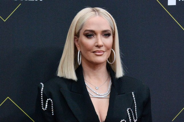 Erika Jayne filed for divorce from her husband, Tom Girardi, after more than 21 years of marriage. File Photo by Jim Ruymen/UPI