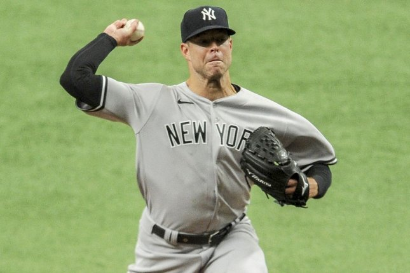Yankees' Corey Kluber throws no-hitter vs. Rangers