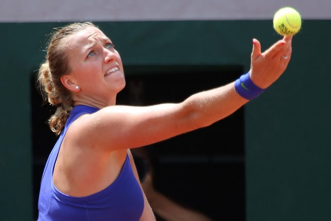 Kvitova withdraws from Wimbledon warm-up in Eastbourne