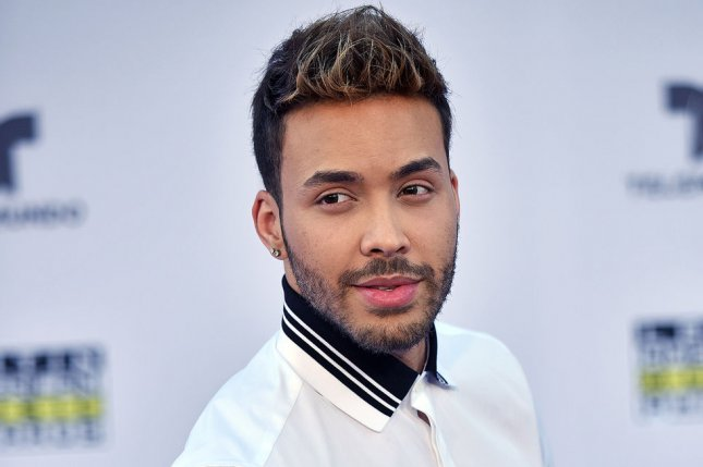 Prince Royce took home four awards Thursday at the Latin American Music Awards alongside other big winners CNCO and Enrique Iglesias. File Photo by Christine Chew/UPI