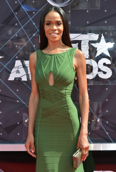 Michelle Williams attends the 15th annual BET Awards at Microsoft Theater in Los Angeles on June 28, 2015. The singer turns 40 on July 23. File Photo by Christine Chew/UPI